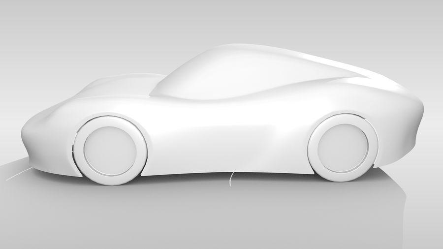 Araba Tabanı RR Düzeni Varyant 2 royalty-free 3d model - Preview no. 10