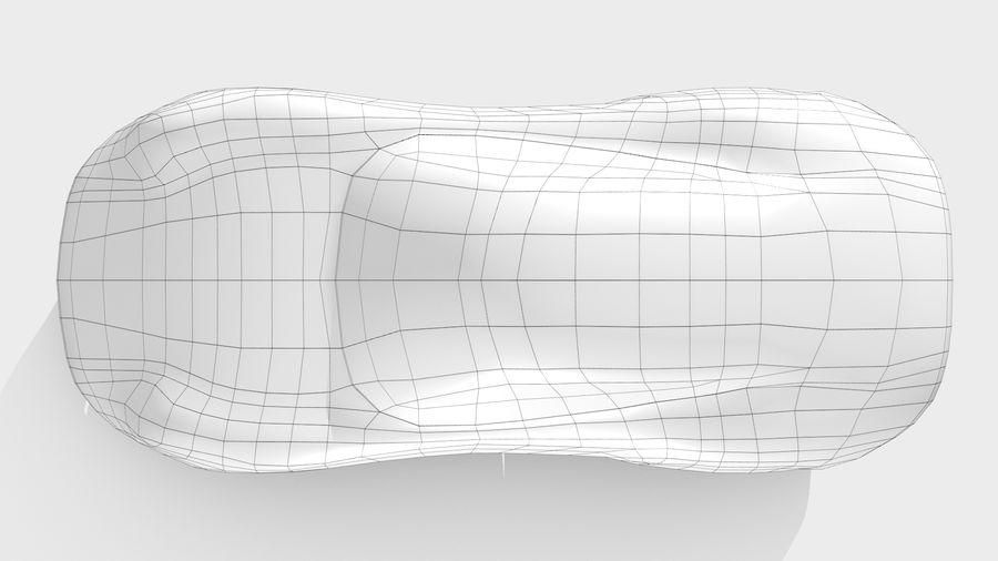 Araba Tabanı RR Düzeni Varyant 2 royalty-free 3d model - Preview no. 12