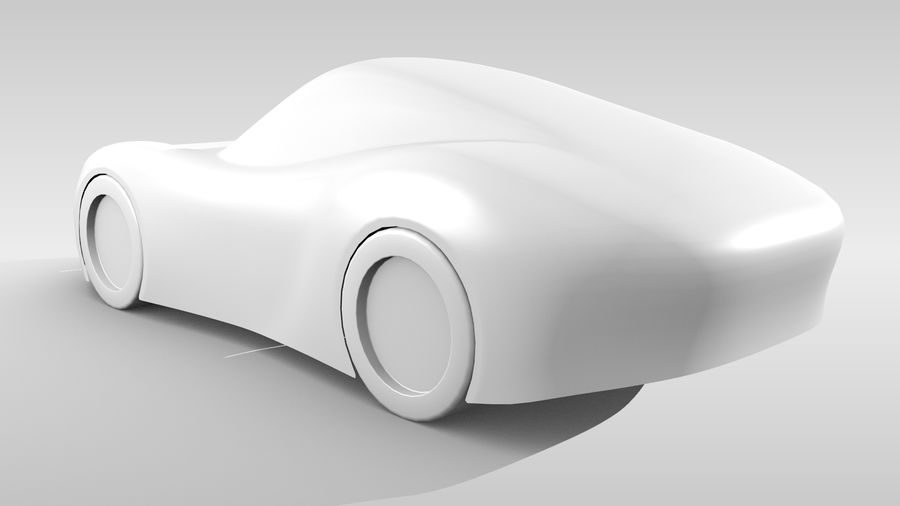 Araba Tabanı RR Düzeni Varyant 2 royalty-free 3d model - Preview no. 7