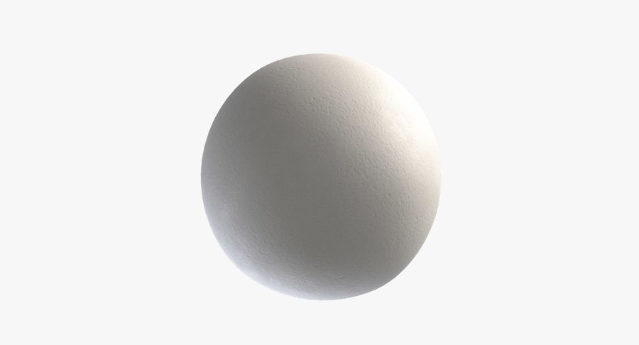 Egg 2 White royalty-free 3d model - Preview no. 6
