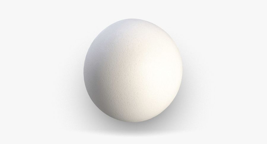 Egg 2 White royalty-free 3d model - Preview no. 5