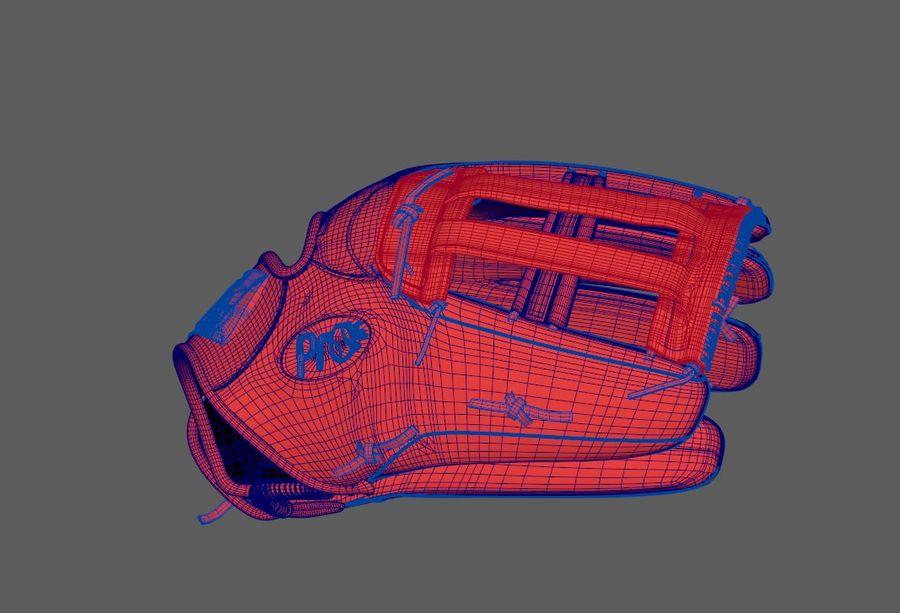 Gant de baseball royalty-free 3d model - Preview no. 9