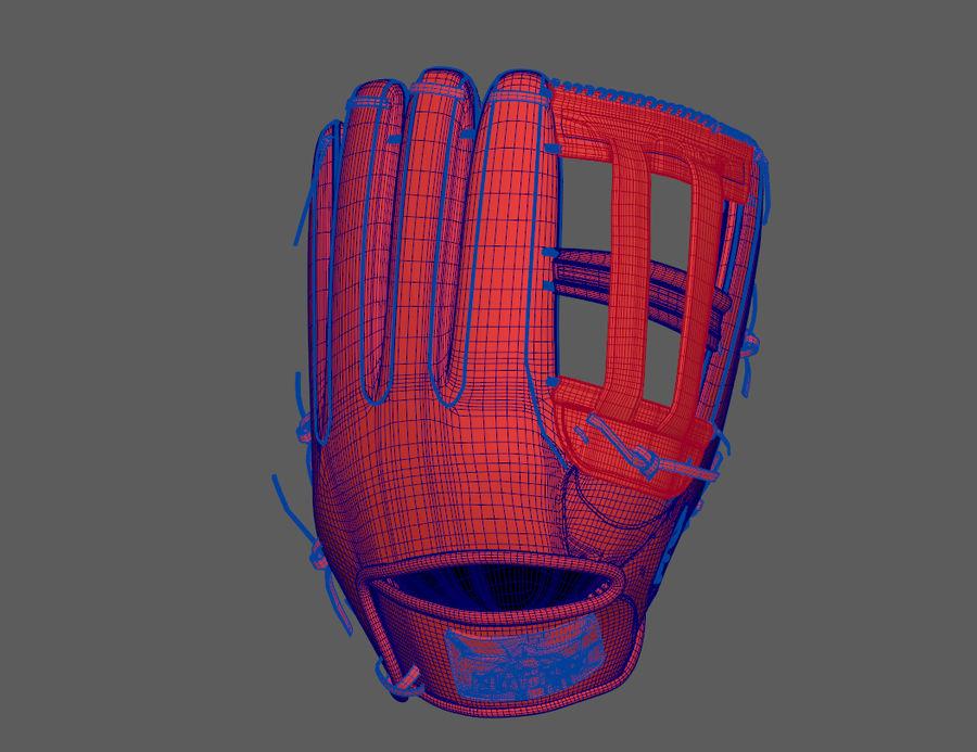 Gant de baseball royalty-free 3d model - Preview no. 11