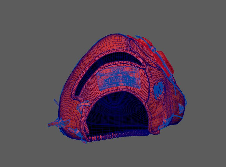Gant de baseball royalty-free 3d model - Preview no. 12