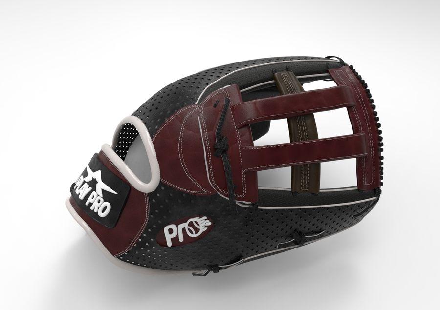 Gant de baseball royalty-free 3d model - Preview no. 5