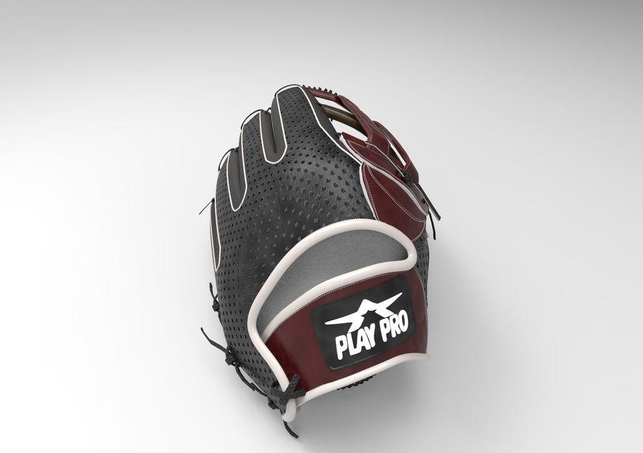 Gant de baseball royalty-free 3d model - Preview no. 8