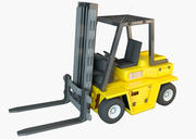 Forklift (Auto loader) 3d model