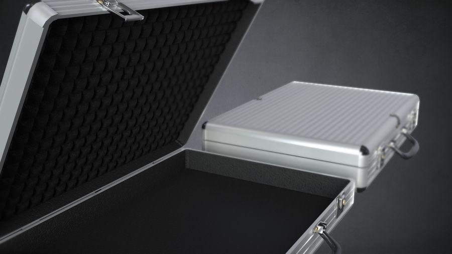 2つのブリーフケース royalty-free 3d model - Preview no. 6