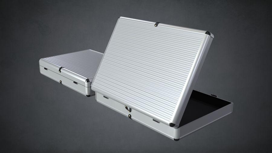 2つのブリーフケース royalty-free 3d model - Preview no. 5