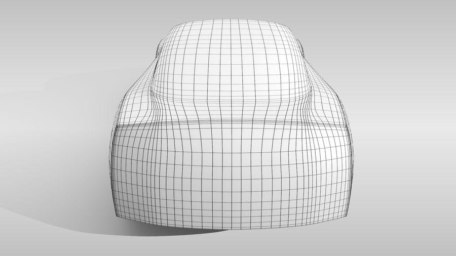 Car Base FR Layout Variant 1 royalty-free 3d model - Preview no. 17