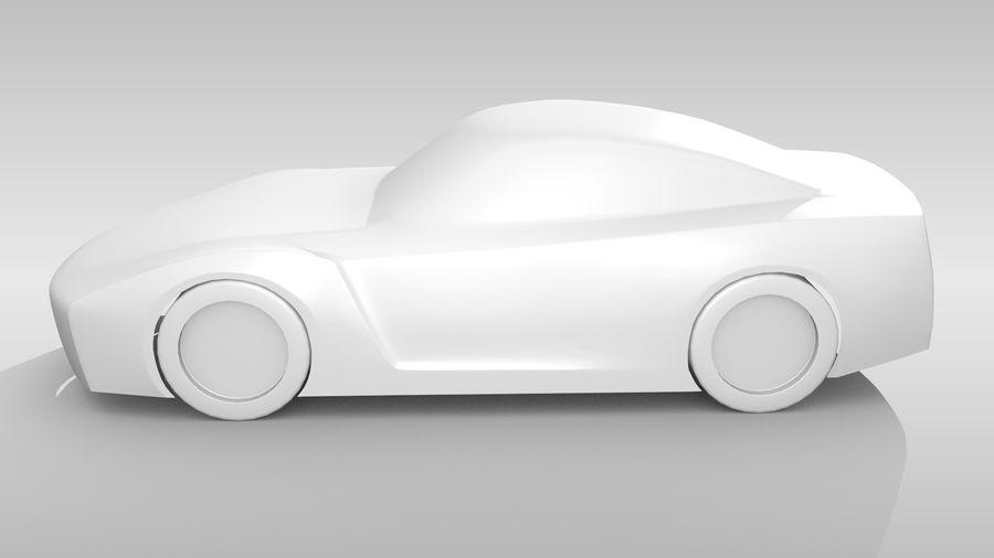Car Base FR Layout Variant 1 royalty-free 3d model - Preview no. 10