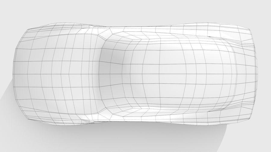Car Base FR Layout Variant 1 royalty-free 3d model - Preview no. 12