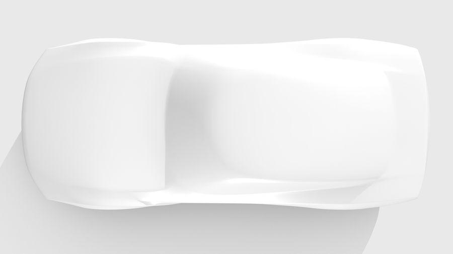 Car Base FR Layout Variant 1 royalty-free 3d model - Preview no. 13