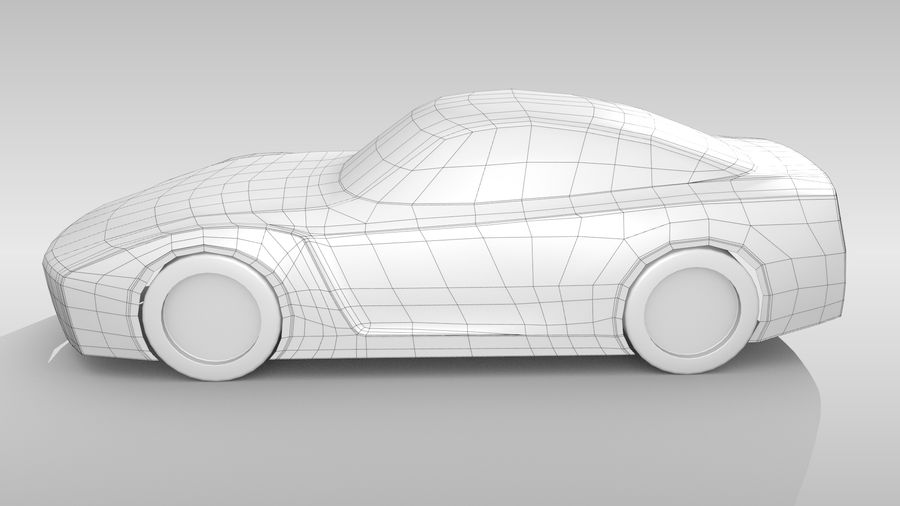 Car Base FR Layout Variant 1 royalty-free 3d model - Preview no. 9