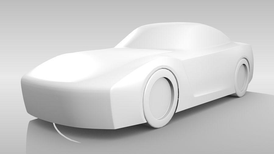 Car Base FR Layout Variant 1 royalty-free 3d model - Preview no. 4