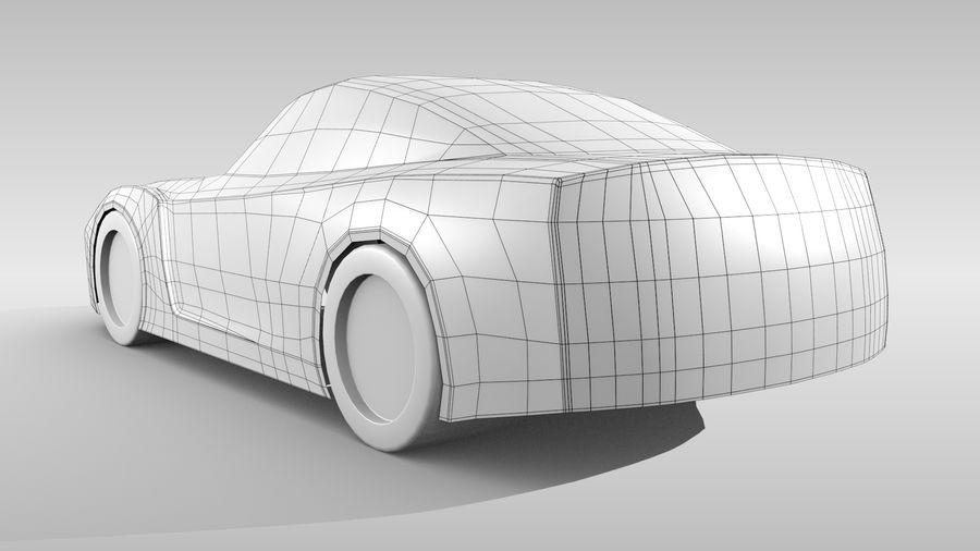 Car Base FR Layout Variant 1 royalty-free 3d model - Preview no. 6