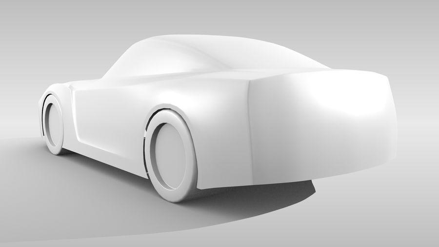 Car Base FR Layout Variant 1 royalty-free 3d model - Preview no. 7
