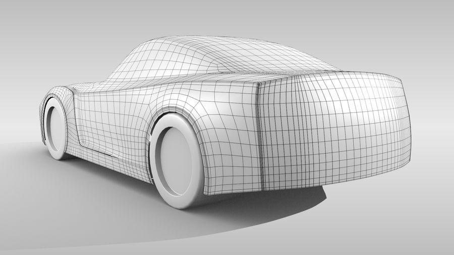 Car Base FR Layout Variant 1 royalty-free 3d model - Preview no. 5