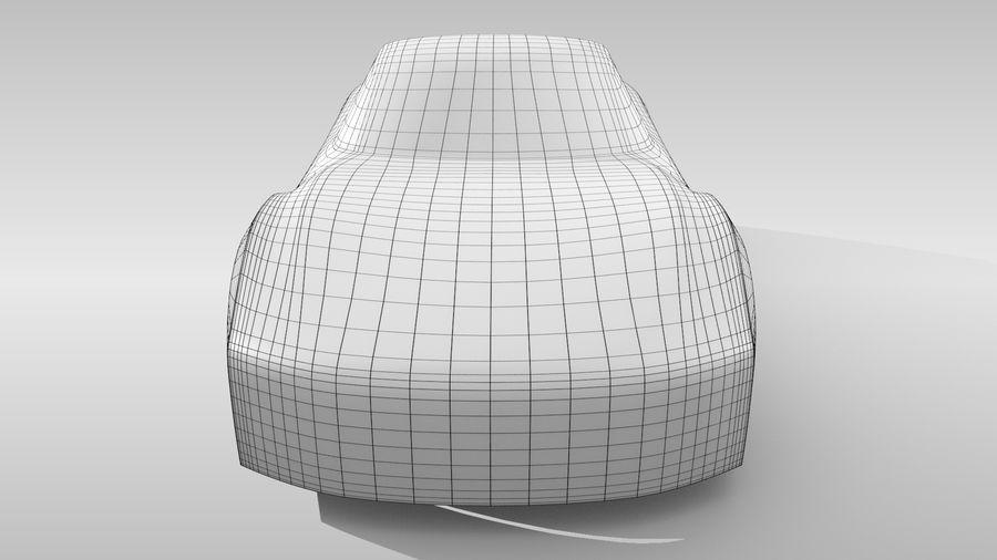 Car Base FR Layout Variant 1 royalty-free 3d model - Preview no. 14