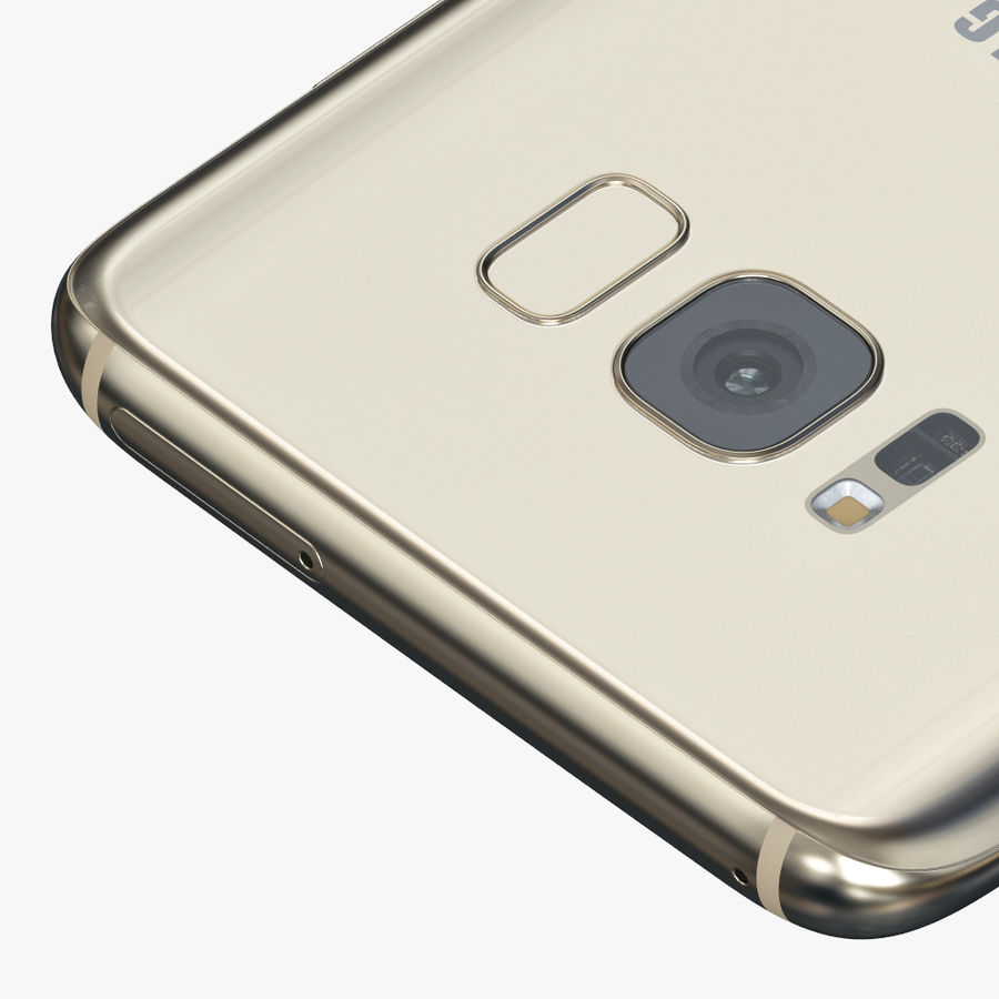 Samsung Galaxy S8 royalty-free 3d model - Preview no. 9