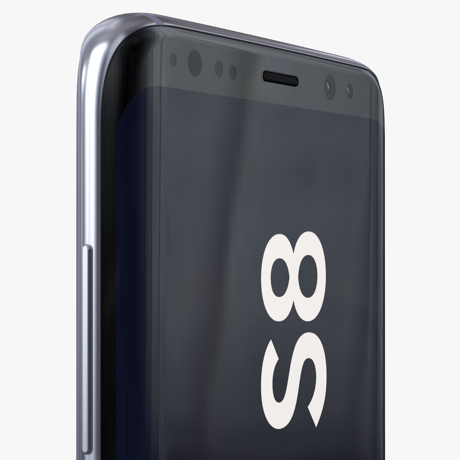 Samsung Galaxy S8 royalty-free 3d model - Preview no. 18