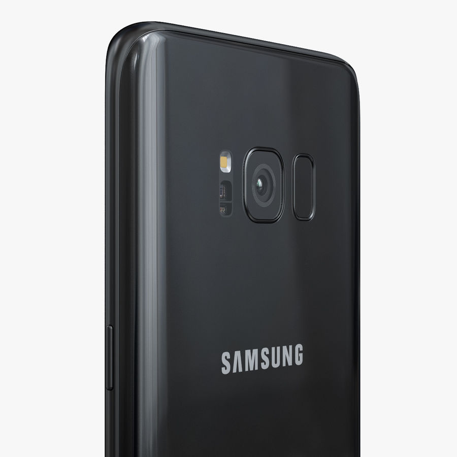 Samsung Galaxy S8 royalty-free 3d model - Preview no. 14