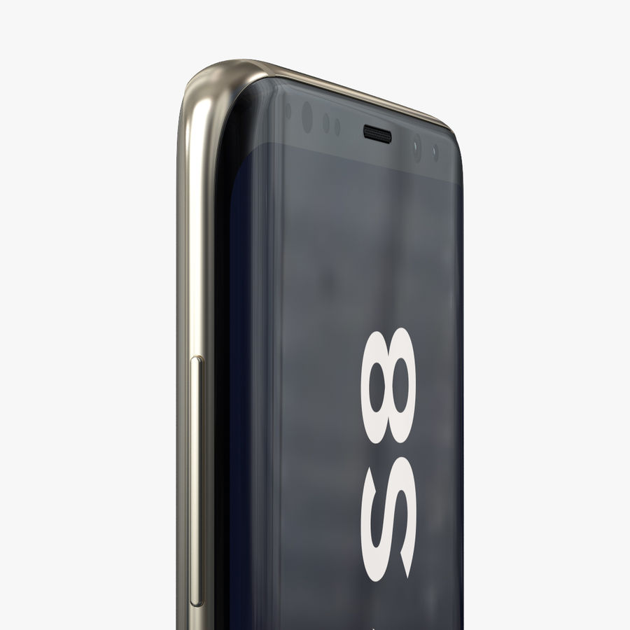 Samsung Galaxy S8 royalty-free 3d model - Preview no. 15