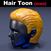 Haar Toon Men 3d model