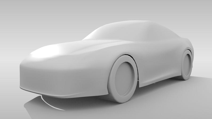 Car Base FR Layout Variant 3 royalty-free 3d model - Preview no. 4