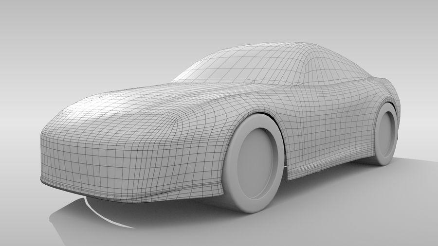 Car Base FR Layout Variant 3 royalty-free 3d model - Preview no. 2