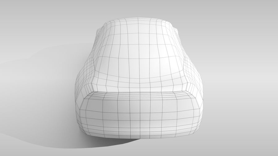 Car Base FR Layout Variant 3 royalty-free 3d model - Preview no. 18