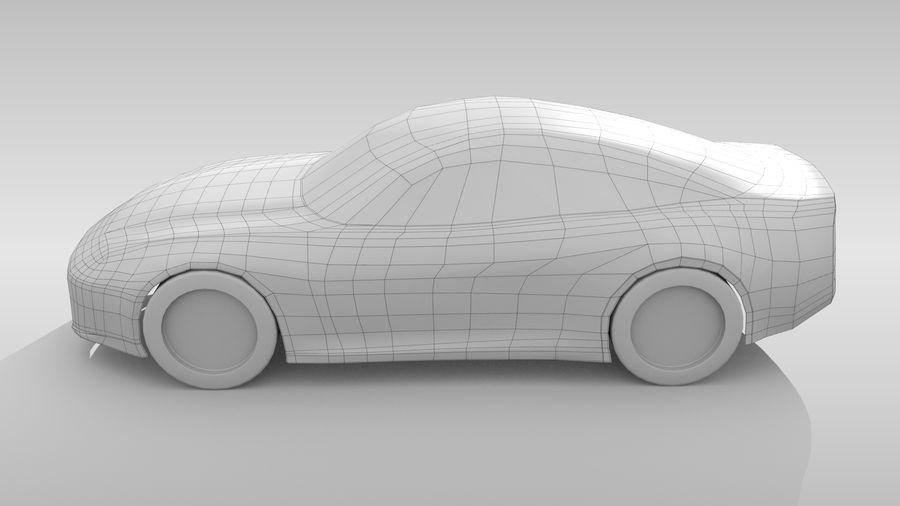 Car Base FR Layout Variant 3 royalty-free 3d model - Preview no. 9