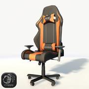 DXRacer椅子低聚 3d model