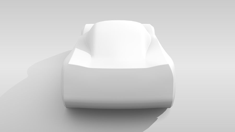 Araba Tabanı MR Düzeni Varyant 2 royalty-free 3d model - Preview no. 19
