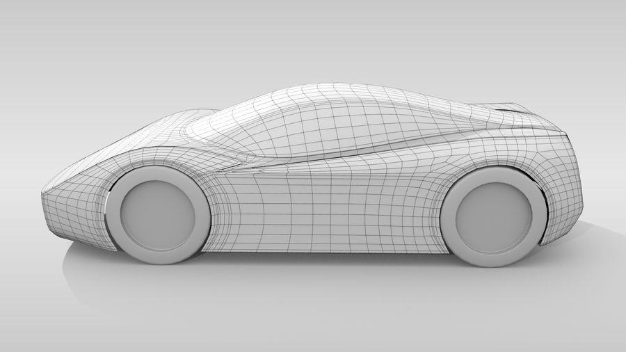 Araba Tabanı MR Düzeni Varyant 2 royalty-free 3d model - Preview no. 8