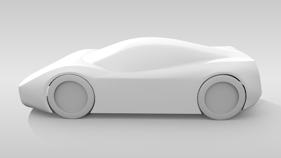 Araba Tabanı MR Düzeni Varyant 2 royalty-free 3d model - Preview no. 10