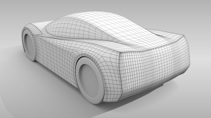 Araba Tabanı MR Düzeni Varyant 2 royalty-free 3d model - Preview no. 5