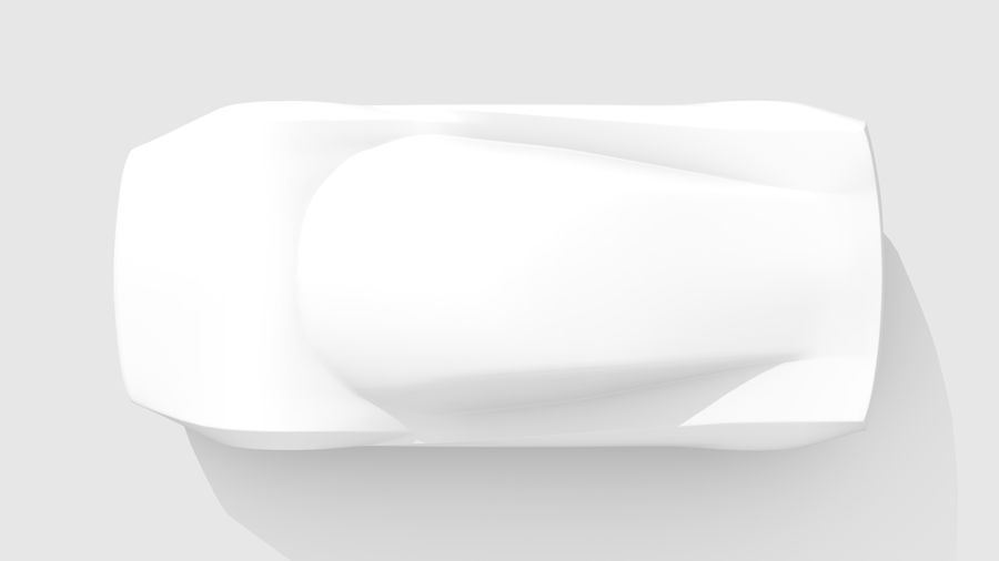 Araba Tabanı MR Düzeni Varyant 2 royalty-free 3d model - Preview no. 13