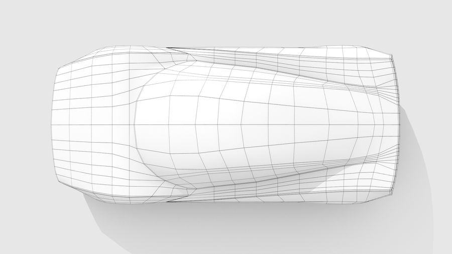 Araba Tabanı MR Düzeni Varyant 2 royalty-free 3d model - Preview no. 12