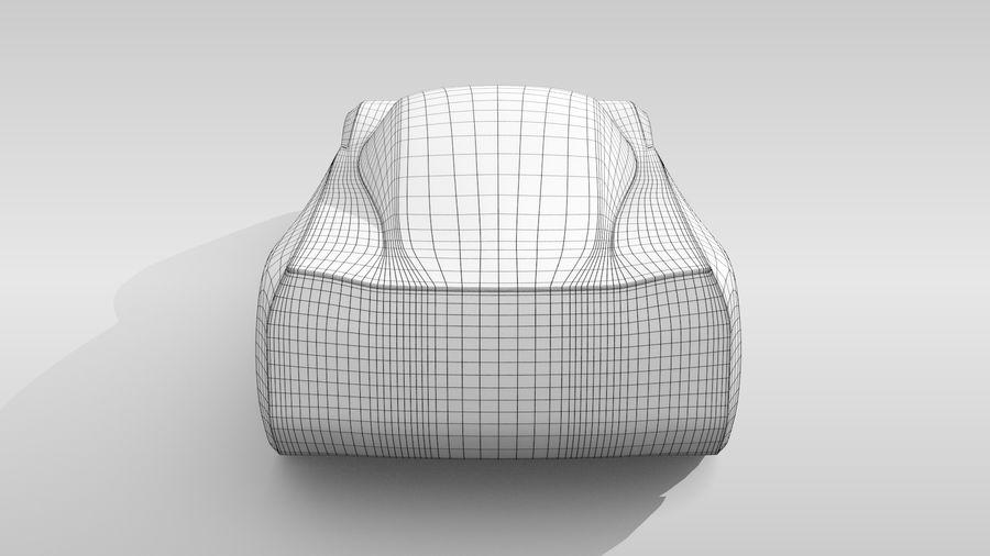 Araba Tabanı MR Düzeni Varyant 2 royalty-free 3d model - Preview no. 17