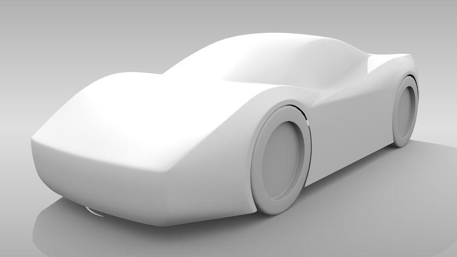 Araba Tabanı MR Düzeni Varyant 2 royalty-free 3d model - Preview no. 4