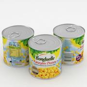 Can Bonduelle Corn 425g 3d model