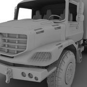 Merecedes ZETROS 6x6 3d model