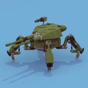 Spider Tank 3d model