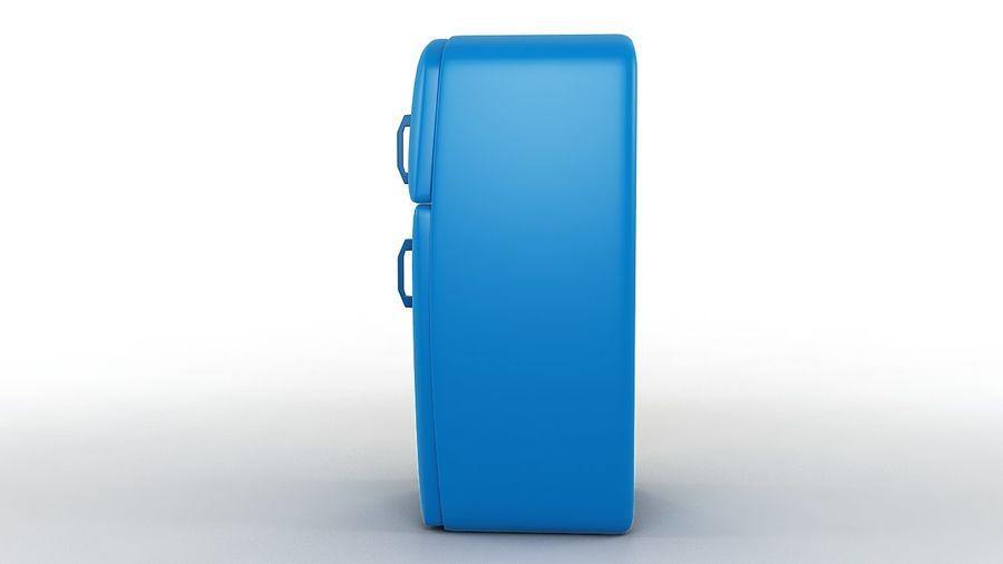 Cartoon Refrigerator royalty-free 3d model - Preview no. 4