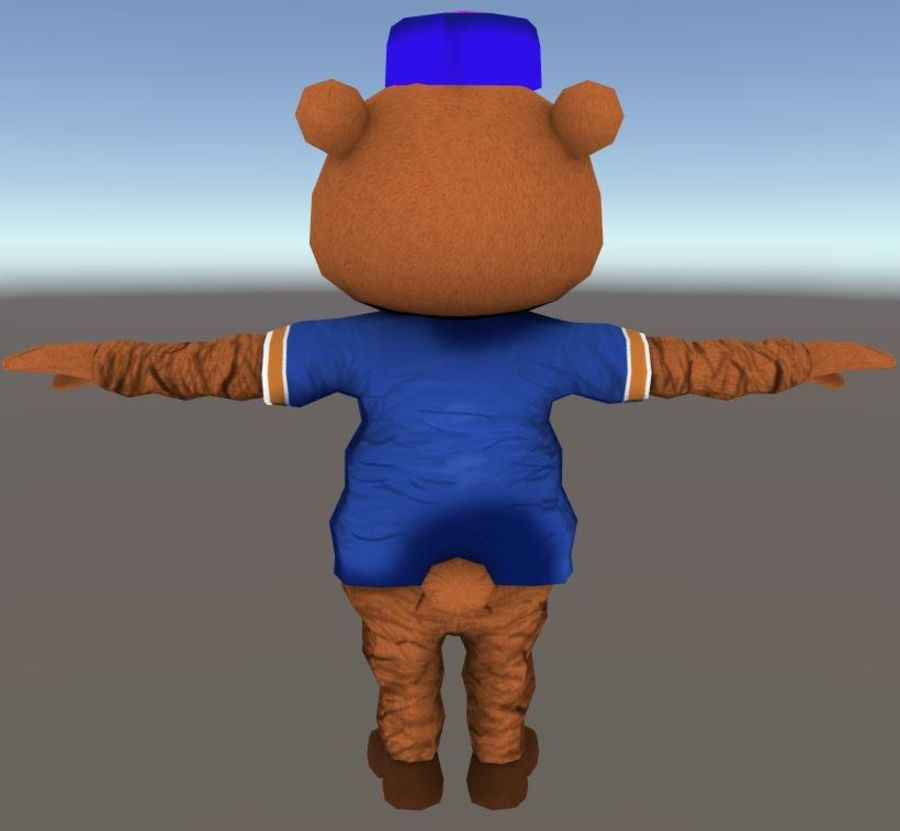 Niedźwiedź royalty-free 3d model - Preview no. 5