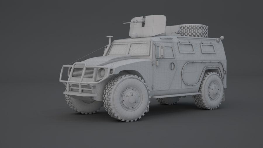 Gaz Tiger royalty-free 3d model - Preview no. 1