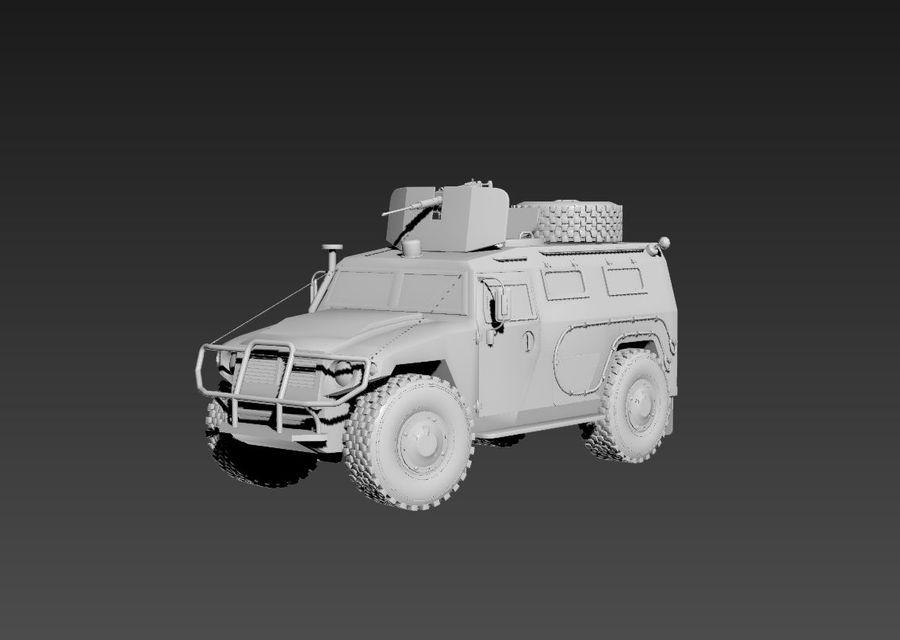 Gaz Tiger royalty-free 3d model - Preview no. 2