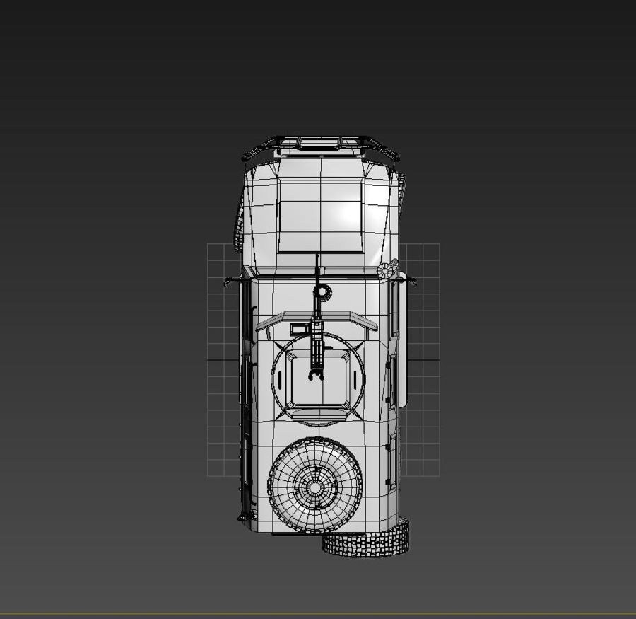 Gaz Tiger royalty-free 3d model - Preview no. 5