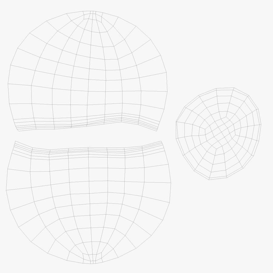 ヘーゼルナッツ royalty-free 3d model - Preview no. 7